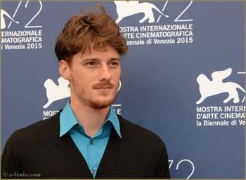 Antonio Folletto à la Mostra de Venise, le Festival du Cinéma de Venise 2015
