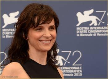 Juliette Binoche à la Mostra de Venise, le Festival du Cinéma de Venise 2015