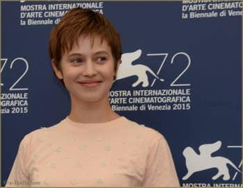 Lou de Laage à la Mostra de Venise, le Festival du Cinéma de Venise 2015