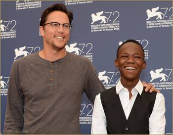 Cary Fukunaga et Attah à la Mostra de Venise, le Festival du Cinéma de Venise 2015