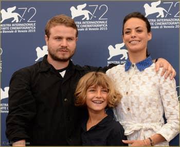Brady Corbet, Tom Sweet et Berenice Bejo à la Mostra de Venise, le Festival du Cinéma de Venise 2015