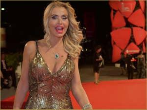 Valeria Marini à la Mostra de Venise, le Festival du Cinéma de Venise 2015