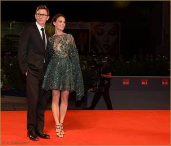 Berenice Bejo, Michel Hazanavicius à la Mostra de Venise, le Festival du Cinéma de Venise 2015