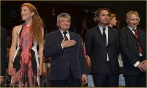Johanna Kortals-Altes et Aleksandr Sokurov à la Mostra de Venise, le Festival du Cinéma de Venise 2015
