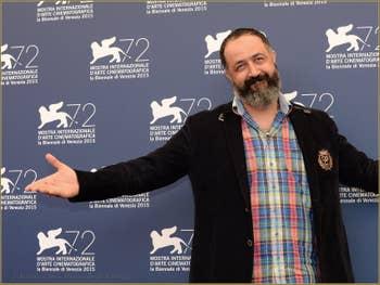 Mehmet Ozgur à la Mostra de Venise, le Festival du Cinéma de Venise 2015