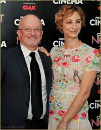 Giovanni Modina et Francesca Inaudi à la Mostra de Venise, le Festival du Cinéma de Venise 2015