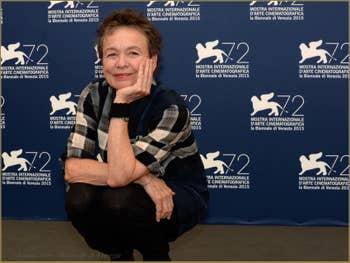 Laurie Anderson à la Mostra de Venise, le Festival du Cinéma de Venise 2015