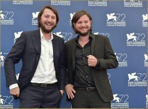 Massimiliano de Serio, Gianluca de Serio à la Mostra de Venise, le Festival du Cinéma de Venise 2015