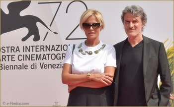 Ferrari et Renato de Maria à la Mostra de Venise, le Festival du Cinéma de Venise 2015