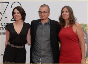 Jana Raluy, Rodrigo Pla et Santullo à la Mostra de Venise, le Festival du Cinéma de Venise 2015
