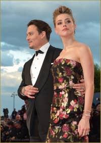 Johnny Depp et Amber Heard à la Mostra de Venise, le Festival du Cinéma de Venise 2015