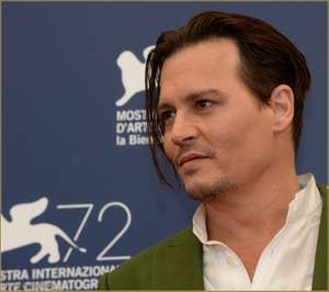 Johnny Depp à la Mostra de Venise, le Festival du Cinéma de Venise 2015