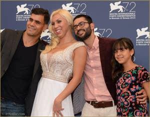 Juliano Cazarra, Pereira, Gabriel Mascaro, Aline Santana à la Mostra de Venise, le Festival du Cinéma de Venise 2015