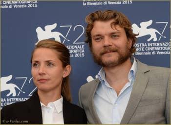 Tuva Novotny, Pilou Asbaek à la Mostra de Venise, le Festival du Cinéma de Venise 2015