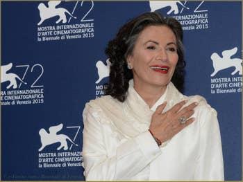 Patricia Reyes Spindola à la Mostra de Venise, le Festival du Cinéma de Venise 2015