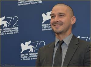 Shia LaBeouf à la Mostra de Venise, le Festival du Cinéma de Venise 2015