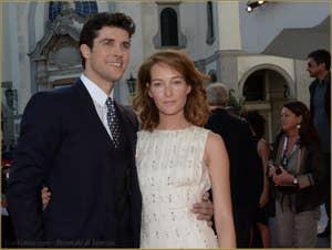 Roberto Bolle, Cristiana Capotondi à la Mostra de Venise, le Festival du Cinéma de Venise 2015