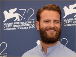 Alessandro Borghi à la Mostra de Venise, le Festival du Cinéma de Venise 2015