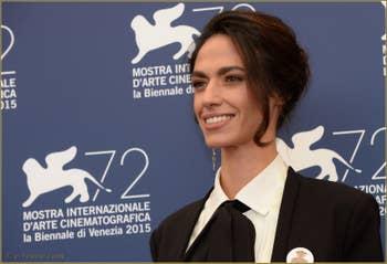 Roberta Mattei à la Mostra de Venise, le Festival du Cinéma de Venise 2015