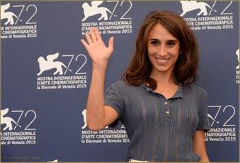 Silvia d'Amico à la Mostra de Venise, le Festival du Cinéma de Venise 2015