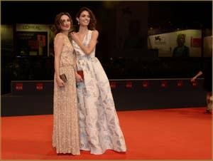 Silvia D'Amico, Roberta Mattei à la Mostra de Venise, le Festival du Cinéma de Venise 2015