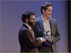 Charlie Kaufman et Duke Johnson, Grand Prix du Jury à la Mostra de Venise, le Festival du Cinéma de Venise 2015