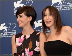 Paz Vega, Anita Caprioli à la Mostra de Venise, le Festival du Cinéma de Venise 2015