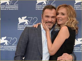 Massimiliano Gallo, Valeria Golino à la Mostra de Venise, le Festival du Cinéma de Venise 2015