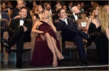 Scott Cooper, Johnny Depp, Amber Heard à la Mostra de Venise, le Festival du Cinéma de Venise 2015