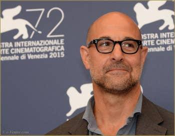 Stanley Tucci à la Mostra de Venise, le Festival du Cinéma de Venise 2015