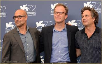 Stanley Tucci, Thomas McCarty, Mark Ruffalo à la Mostra de Venise, le Festival du Cinéma de Venise 2015