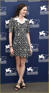 Stacy Martin à la Mostra de Venise, le Festival du Cinéma de Venise 2015