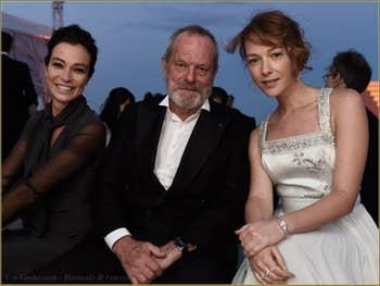 Stefania Rocca, Terry Gilliam, Cristiana Capotondi à la Mostra de Venise, le Festival du Cinéma de Venise 2015