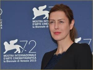 Gina McKee à la Mostra de Venise, le Festival du Cinéma de Venise 2015