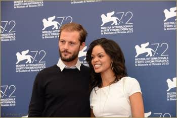 Nicolas Duvauchelle, Crystal-Donna Roberts à la Mostra de Venise, le Festival du Cinéma de Venise 2015