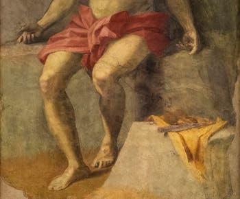 Andrea del Sarto, Christ en Piété, fresque de 1525,  Galerie de l'Accademia à Florence en Italie