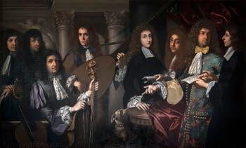 Anton Domenico Gabbiani, Ferdinand de Médicis et ses musiciens, huile sur toile, 1685, Musée des instruments de musique de la Galerie de l'Accademia à Florence en Italie