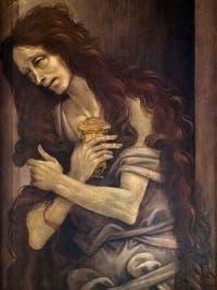 Filippino Lippi, sainte Marie-Madeleine, huile sur bois, 1496, Galerie de l'Accadémia à Florence en Italie