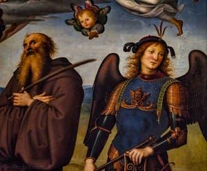 Perugino, Taddeo Gaddi