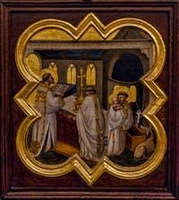 Taddeo Gaddi, Histoire de la vie du Christ et de Saint-François d'Assise, détrempe sur bois, 1335-1340, Galerie de l'Accademia à Florence Italie