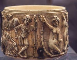 Art Romain, Diane et Acteon, fin Ve siècle, Musée du Bargello à Florence Italie