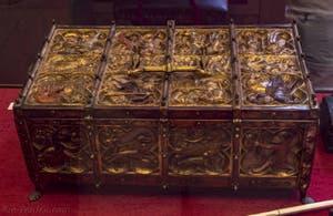 Art Français, Coffre à bijoux, fin XIIIe siècle, Musée du Bargello à Florence Italie