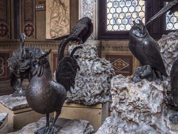 Bartolomeo Ammannati, Coq et Chouette, 1567, Musée du Bargello à Florence Italie