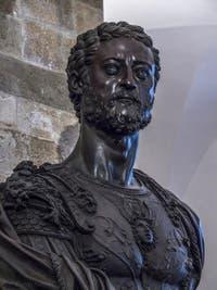 Benvenuto Cellini, Buste en bronze de Cosimo Cosme Ier de Médicis, Musée du Bargello à Florence Italie