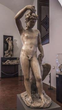 Benvenuto Cellini, Ganymède et l'aigle, 1548, Musée du Bargello à Florence Italie