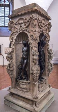 Benvenuto Cellini, Jupiter, Mercure, Minerve, Danaé et Persée, 1553, Musée du Bargello à Florence Italie