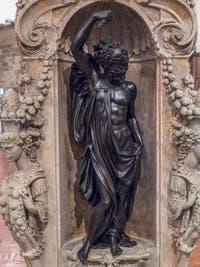 Benvenuto Cellini, Jupiter, 1553, Musée du Bargello à Florence Italie