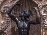 Benvenuto Cellini, Mercure, 1553, Musée du Bargello à Florence Italie