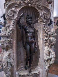 Benvenuto Cellini, Minerve, 1553, Musée du Bargello à Florence Italie