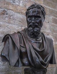 Daniele da Volterra, Buste de Michel-Ange, 1564, Musée du Bargello à Florence Italie